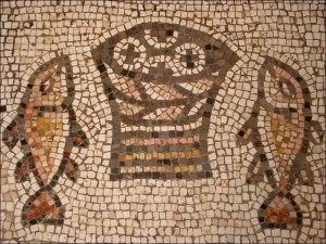 Bread Fish Mosaic