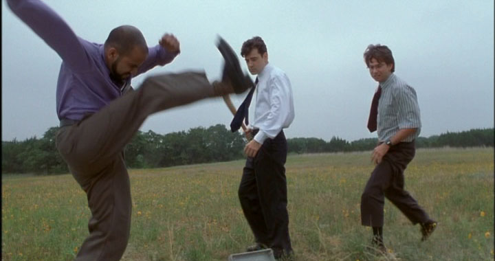 Office Space Axe Kick