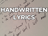 handwritten-lyrics