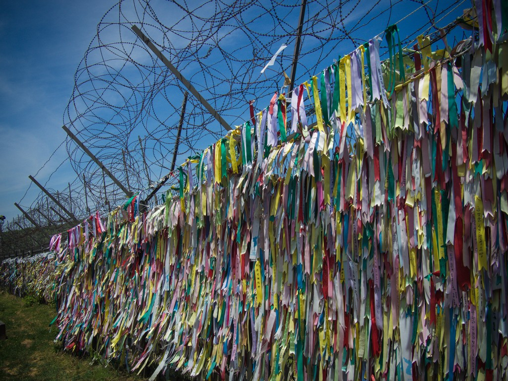 Ribbons and Razor Wire